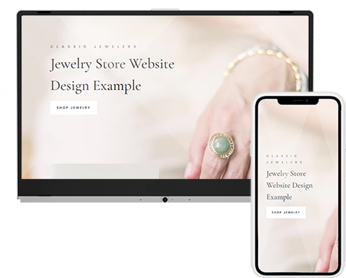 Jewelry Store Website Example